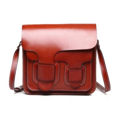 2017 New Small Leather Satchel