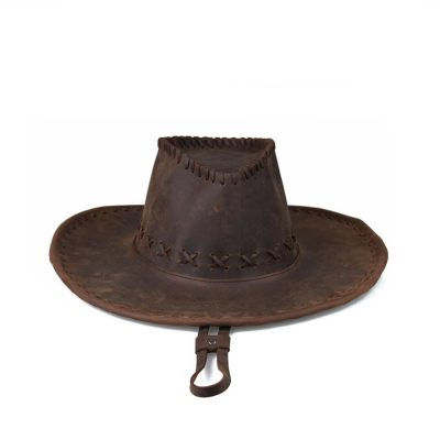 Classic Leather Cowboy Hat