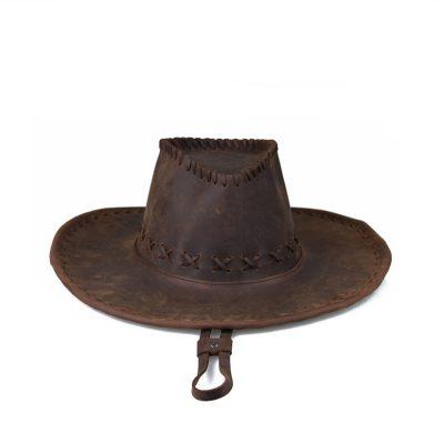 Classic Leather Cowboy Hat