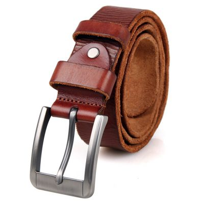 Durable Vegetable Leather Belt