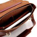 Fashion Leather Messenger Bag-Inside