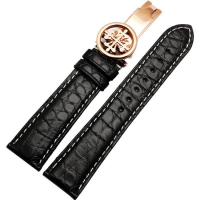 Handmade Genuine Alligator Leather Watch Band