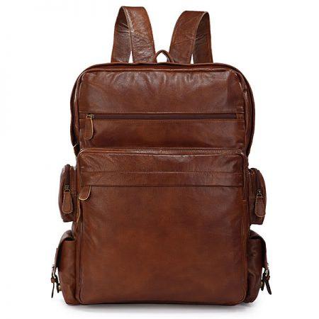 Hiking Vintage Leather Backpack