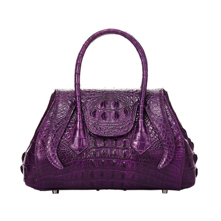 Lady Classic Crocodile Handbag