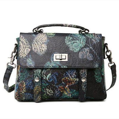 Leather Handbag Shoulder Bag