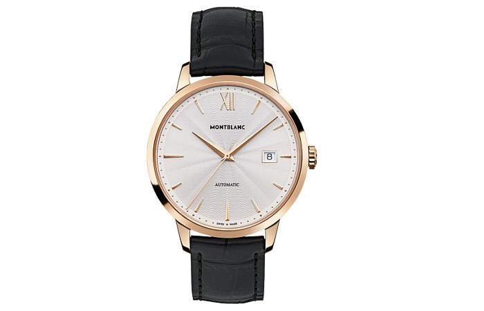 MontBlanc leather watch band