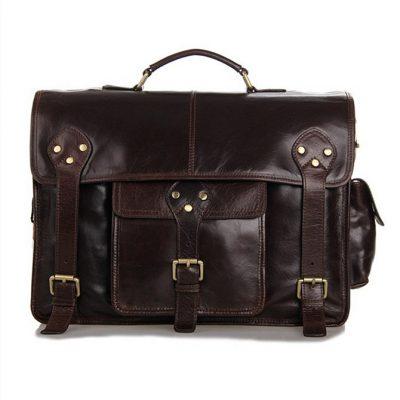 Noble Leather Messenger Bag