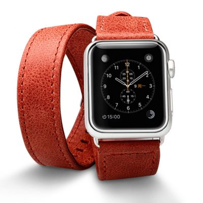 Red Double Tour Apple Watch Band 38mm 42mm