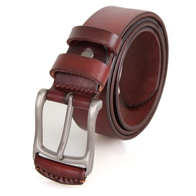 Vegetable Leather Handmade Belt for Men
