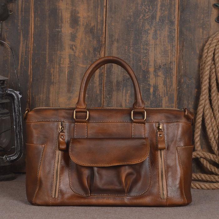 handmade leather handbag is a fashion investment