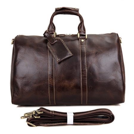 Classic Leather Duffle Bags