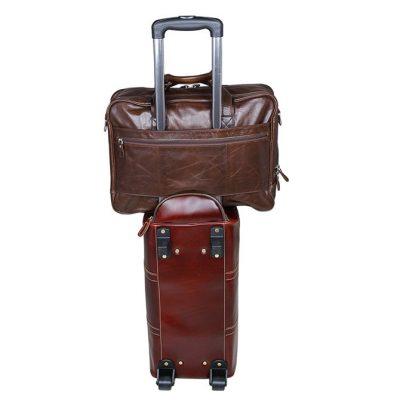 Fashion Leather Laptop Bag-tote
