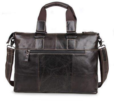 Men and Womens Laptop Messenger Bag-Back