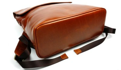 Stylish Leather Backpack-Bottom