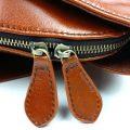 Stylish Leather Backpack-Zipper