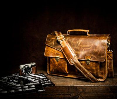 Stylish Leather Gym Bags