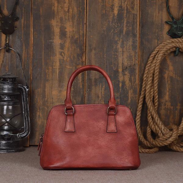 authentic Brucegao leather handbag