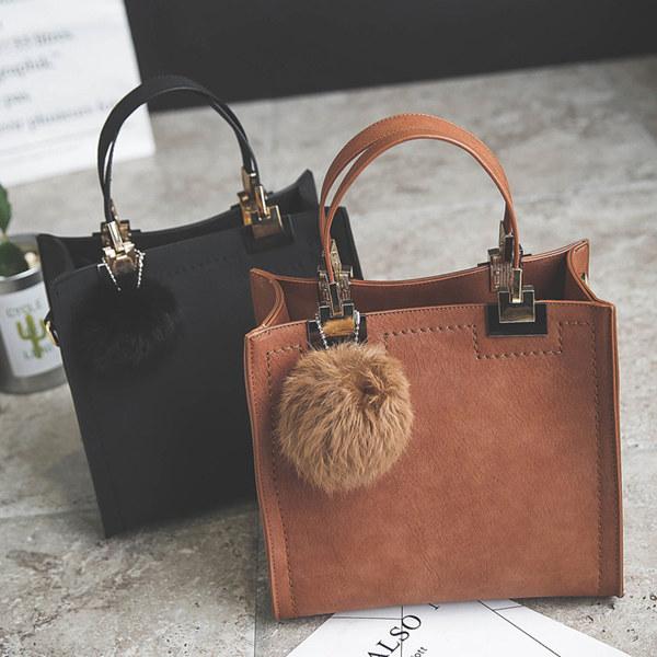 leather handbag key