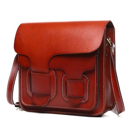 2017 New Small Leather Satchel-Left