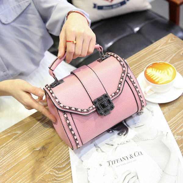 Brucegao small fresh leather bag
