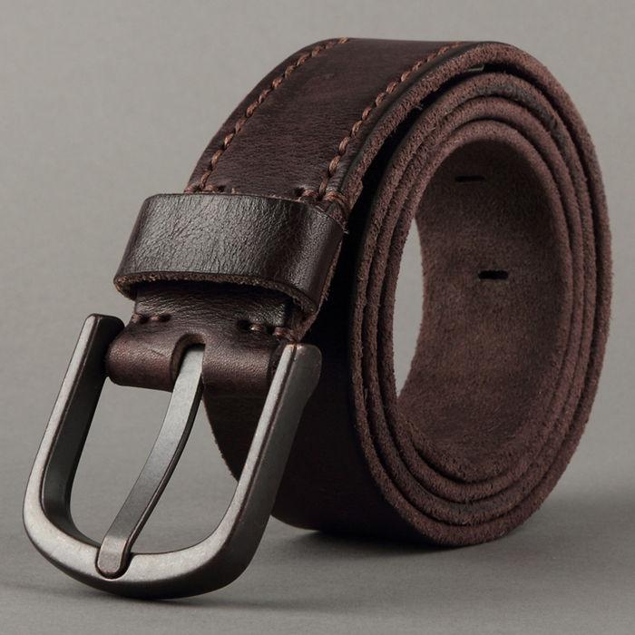 Cow hide belts