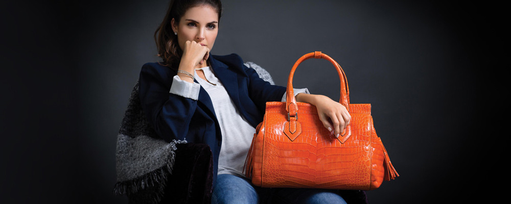 Crocodile bag and ostrich skin bag is the choice of successful women