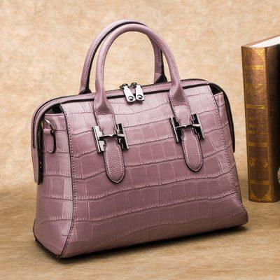 Crocodile handbag is expensive