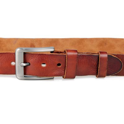 Durable Vegetable Leather Belt-2