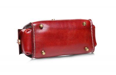 Fashion Women's Leather Satchel-Bottom