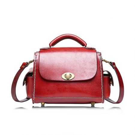 Fashion Womens Leather Satchel