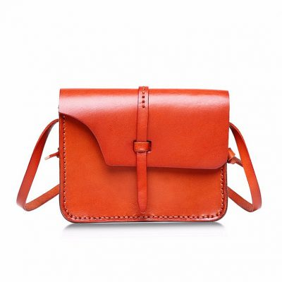 Handmade Leather Satchel & Leather Shoulder Bag