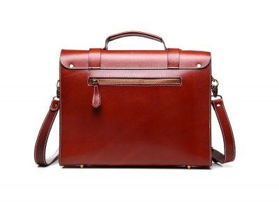 Hot Fashion Leather Satchel-Back