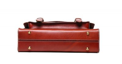 Hot Fashion Leather Satchel-Bottom