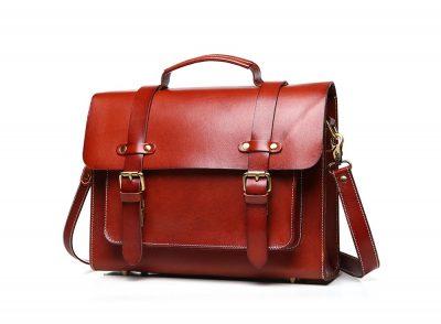 Hot Fashion Leather Satchel-Left