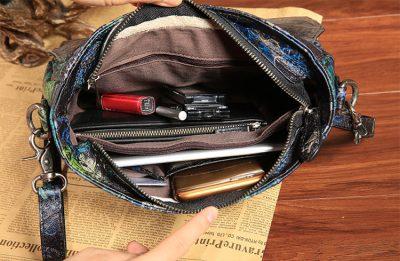 Leather Handbag Shoulder Bag Crossbody Bags-Inside