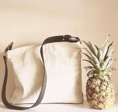 Pineapple Leather Tote Bags