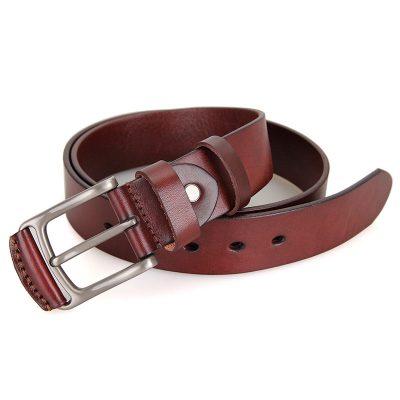 Vegetable Handmade Leather Belt-Long