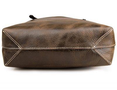 Vintage Leather Tote Shoulder Bag-Details