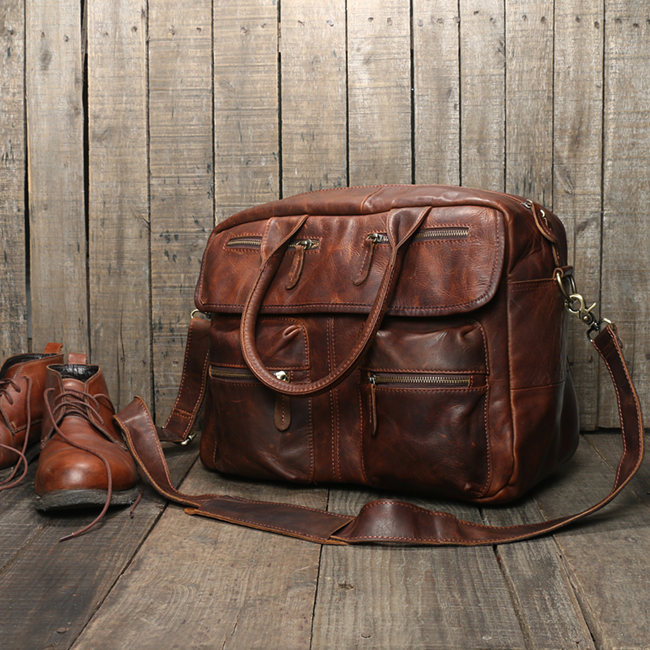 good quality of mens leather bag