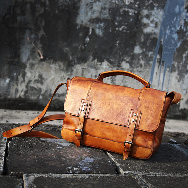 leather bag production process