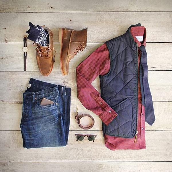 men's fashion collocation-5