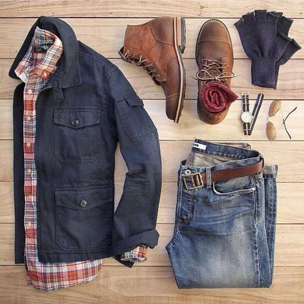 men's fashion collocation-7