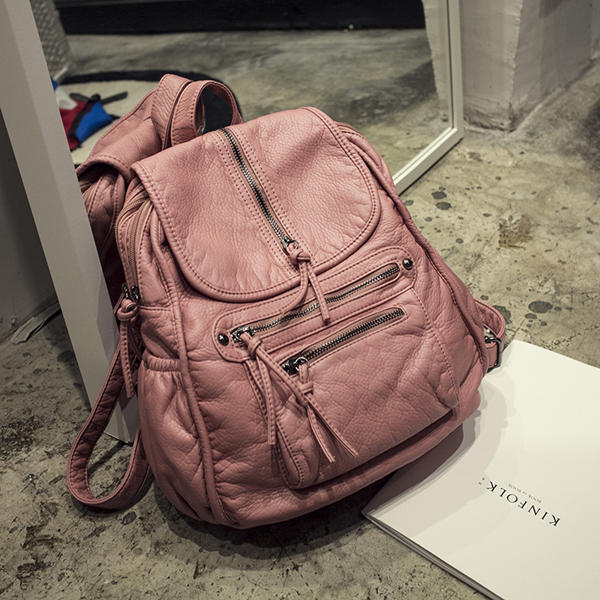 pink fashion computer bag