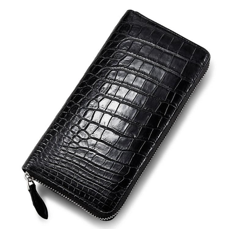 Classic Genuine Crocodile Wallet