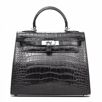 Crocodile City Bag, Crocodile Handbag