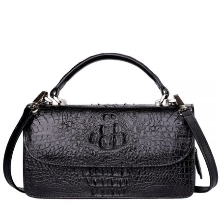 Crocodile Clutch Evening Bag, Crocodile Handbag, Crocodile Crossbody Bag