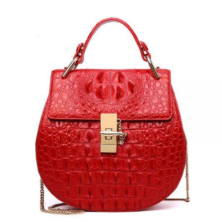 Crocodile Evening Handbag, Crocodile Wrist Bag