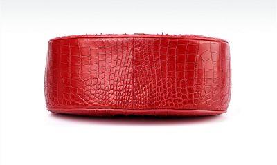 Crocodile Evening Handbag, Crocodile Wrist Bag-Bottom