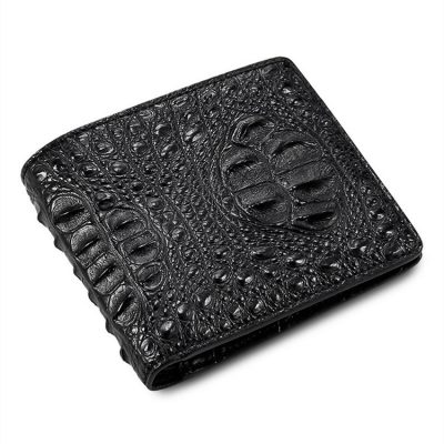 Fashion Bifold Genuine Crocodile Wallet