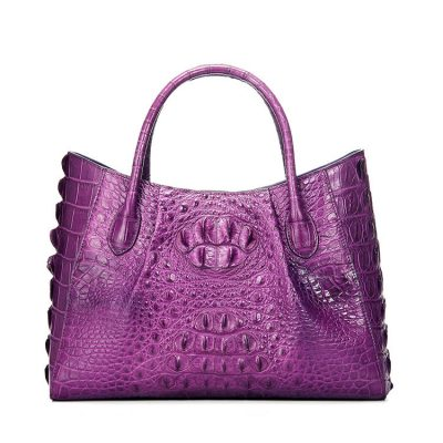 Genuine Crocodile Handbag, Crocodile City Bag